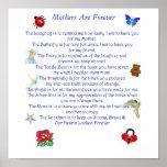 La madre es para siempre poema impresiones