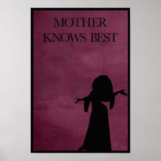 La madre sabe mejor póster