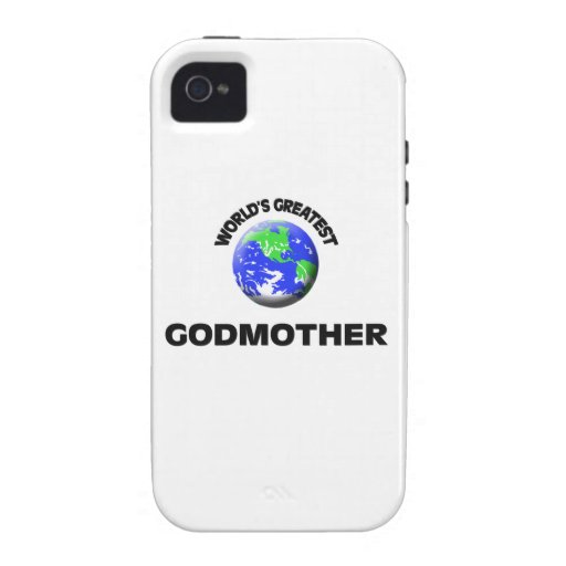 La madrina más grande del mundo vibe iPhone 4 carcasa
