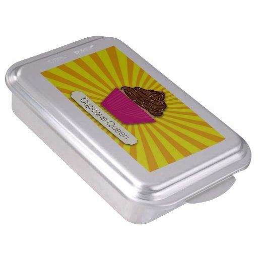 La magdalena y la sol personalizan añaden su texto molde para pasteles