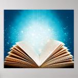 La magia de libros y de la lectura por amor curati posters
