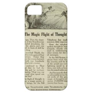 La magia del pensamiento funda para iPhone 5 barely there
