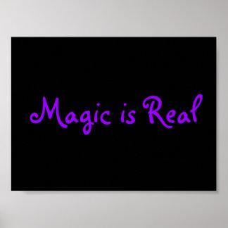 La magia es Real-poster Póster