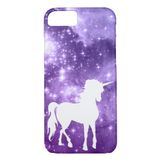 La magia púrpura cósmica protagoniza el unicornio funda iPhone 7