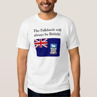 La Malvinas será siempre británica Camiseta