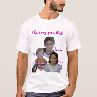 la mamá ama a sus grandkids camiseta