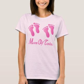 La mamá de las huellas rosadas de los gemelos cupo camiseta