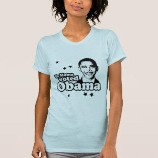 La mamá de Yo votó la camiseta de Obama