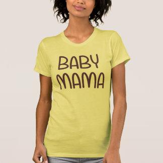 La mamá del bebé (es decir madre) camisetas
