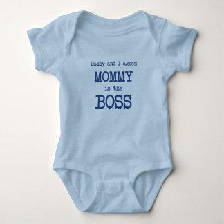 La mamá es Boss Body Para Bebé