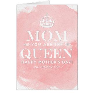 La mamá es las tarjetas del día de madre de la