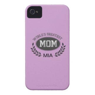 La mamá más grande de los mundos Case-Mate iPhone 4 cárcasas