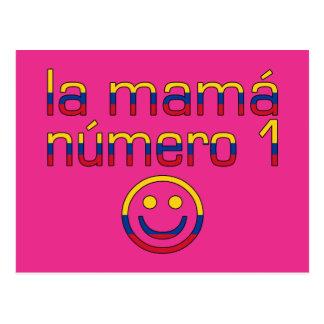 La Mamá Número 1 - mamá del número 1 en colombiano Postal