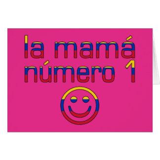 La Mamá Número 1 - mamá del número 1 en venezolano Tarjetón