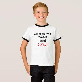 ¡La mamá y el papá dijeron que lo hago! Camiseta