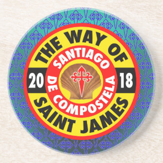 La manera de San Jaime 2018 Posavasos De Arenisca