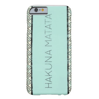 La manera de vida funda de iPhone 6 barely there
