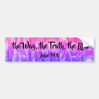 la manera, la verdad, la pegatina para el