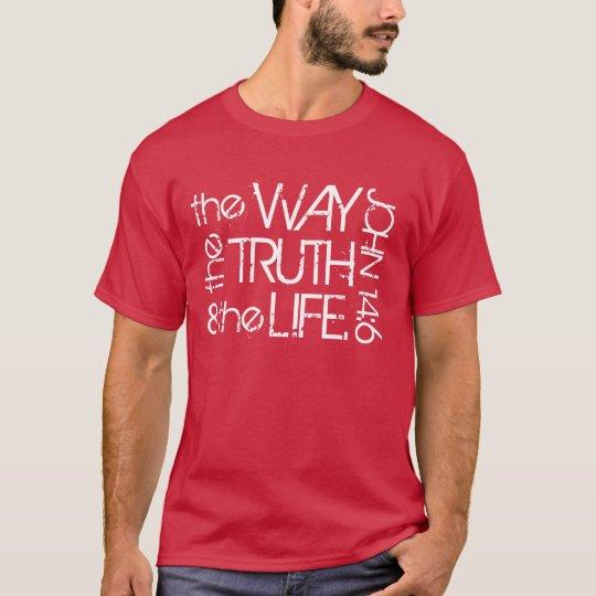 La manera la verdad y la camiseta del 14:6 de Juan