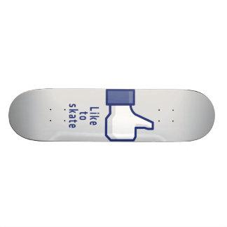 La mano de Facebook tiene gusto de patinar monopat Monopatines
