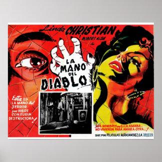 La Mano Del Diablo Poster