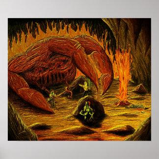 La mano del diablo póster