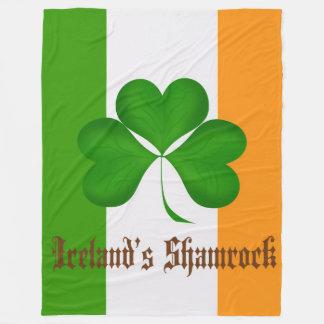La manta del paño grueso y suave de Irlanda de los