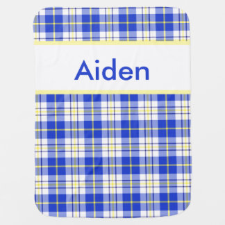 La manta personalizada de Aiden