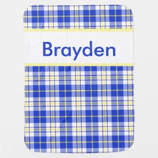 La manta personalizada de Brayden Manta De Bebé