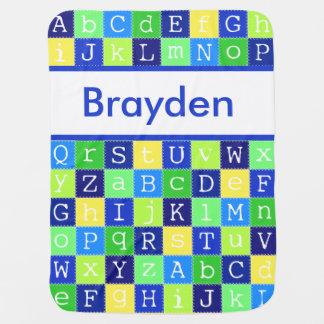 La manta personalizada de Brayden Mantas De Bebé