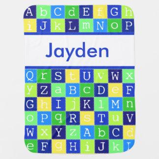 La manta personalizada de Jayden