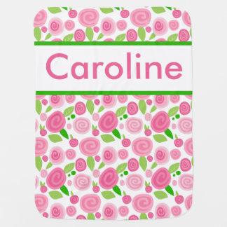 La manta subió personalizada de Caroline