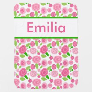 La manta subió personalizada de Emilia