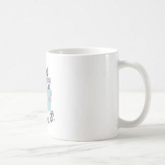 La máquina cose taza básica blanca