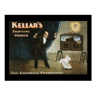 La maravilla alarmante de Kellar Postal