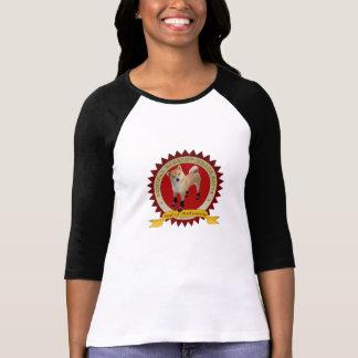 La marca de Barkley de las mujeres patea 3/4 Camiseta