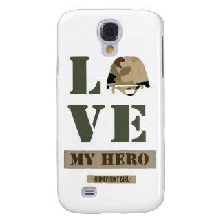"""La marca de Girl™ del Homefront """"amor diseño de MI Samsung Galaxy S4 Cover"""