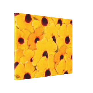 La margarita amarilla florece arte