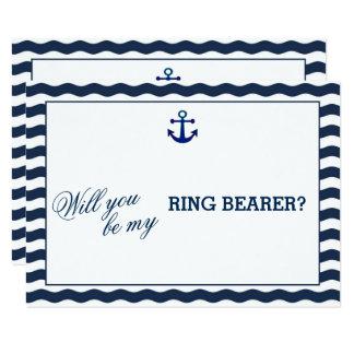 La marina de guerra náutica que las ondas LE Invitación 8,9 X 12,7 Cm