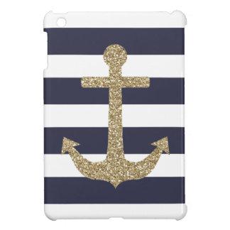 La marina de guerra y el blanco del ancla del oro