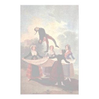 La marioneta de Francisco De Goya Papeleria De Diseño