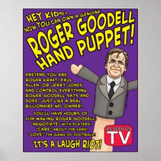 La marioneta de mano poster