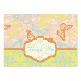 La mariposa besa TY dulce Notecard Plantilla De Tarjeta De Visita