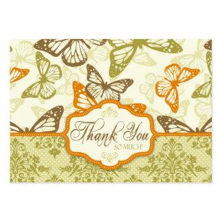 La mariposa besa TY encantador Notecard Plantillas De Tarjetas Personales