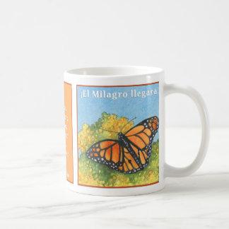 La Mariposa Monarca, taza de café