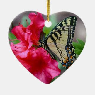 Adorno De Cerámica La mariposa soña el ornamento