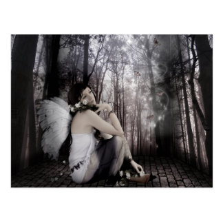 "La ""mariposa soña"" la postal"