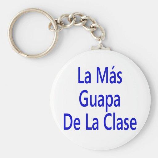 La Mas Guapa De La Clase Llaveros Personalizados