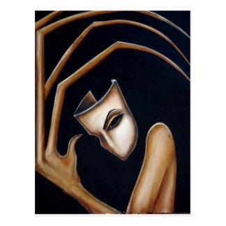 la máscara postal
