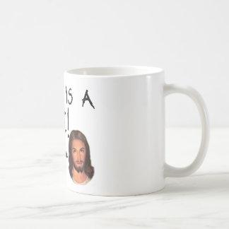 ¡La matemáticas es una mentira! Taza de café